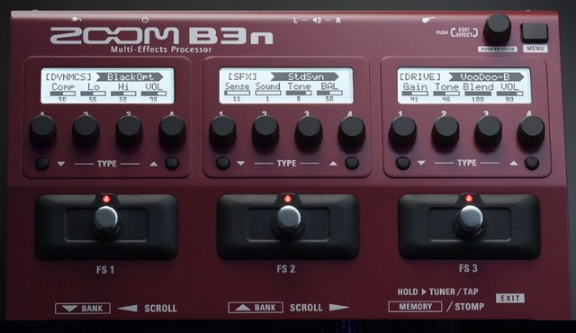 NAMM 2017: Zoom Multi-FX For Bassists