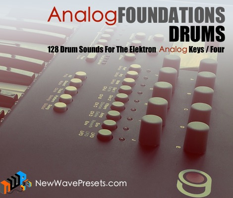 Drum Sounds For Elektron Analog Keys / Four