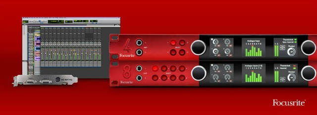 Focusrite Simplifies Interface And Pro Tools Combinations