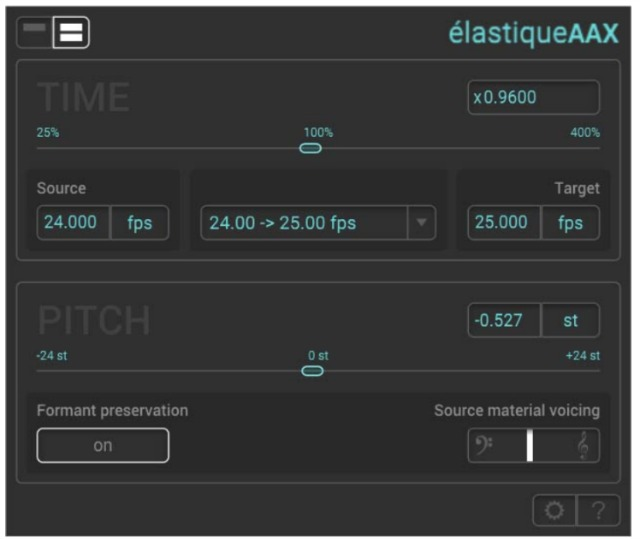 New Time And Pitch Manipulation Plug-In