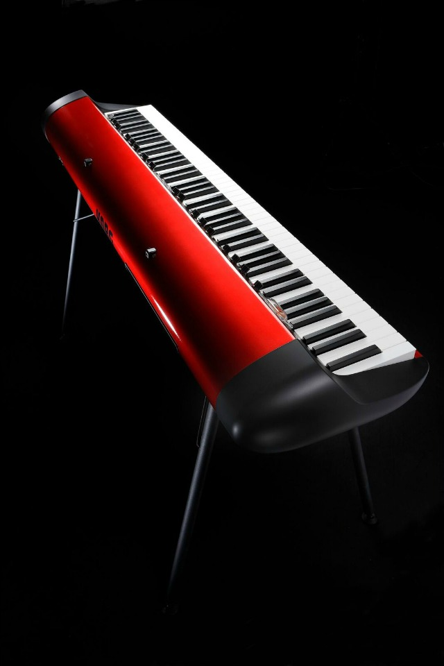 Korg Announces Red SV-1 Stage Vintage Piano