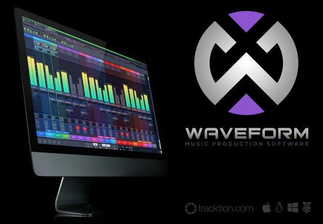 Tracktion Launches Waveform DAW