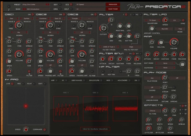 Tone2 Updates Gladiator Synth