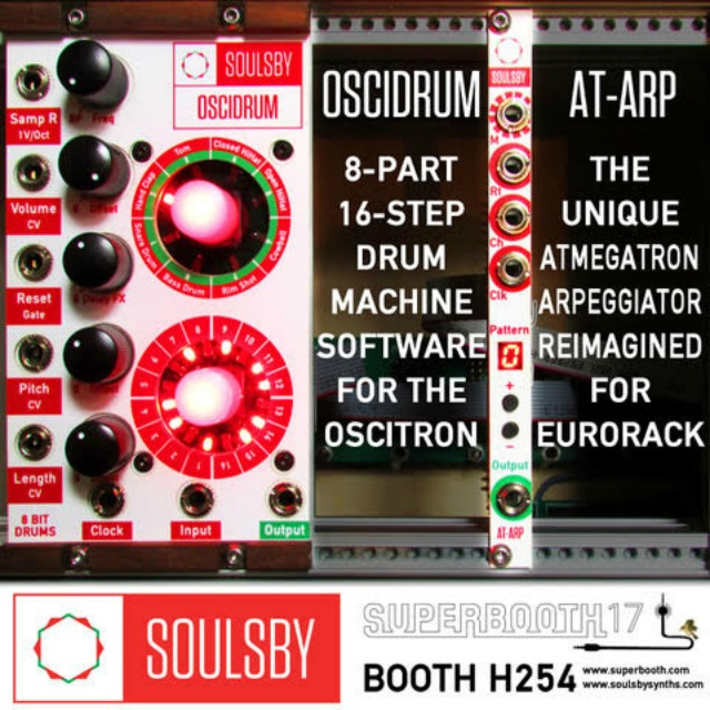 Soulsby Synths Superbooth Secrets