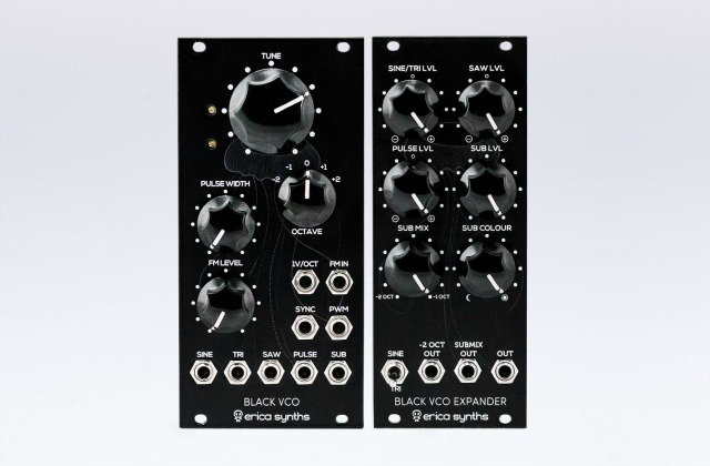 Erica Synths Ships New Black Modules