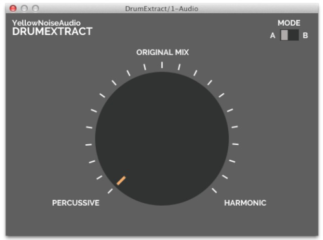 Extract Drums From Your Mix On A Mac