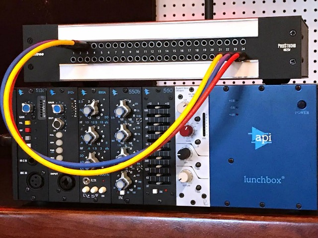 Patchbay For 500 Series Modules