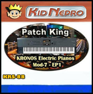 Electric Pianos For Korg Kronos
