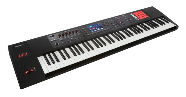 Roland Launches  FA-07 Music Workstation
