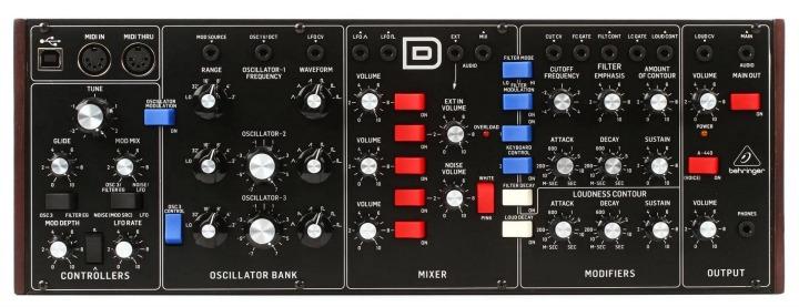 Behringer Drop Model D Price To $299 - Pre-orders Taken
