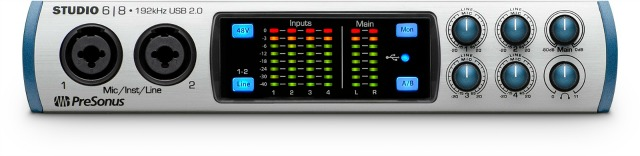 PreSonus Ships Ultra-High-Def Interfaces