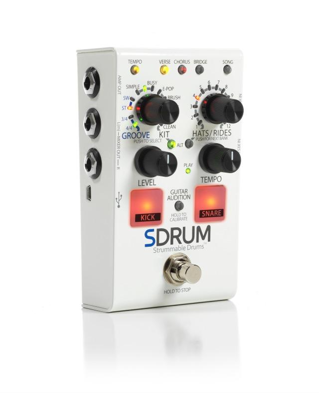 Intelligent Drum Machine For Guitarists