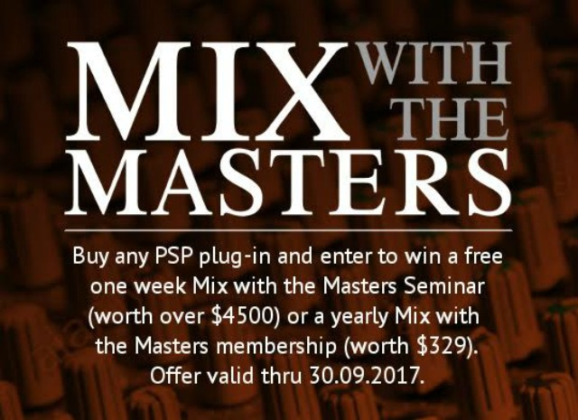 A Chance To Mix With The Masters