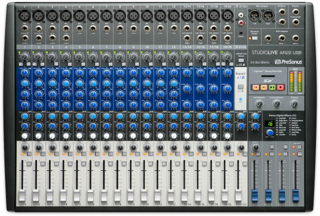 Another New Presonus Mixer