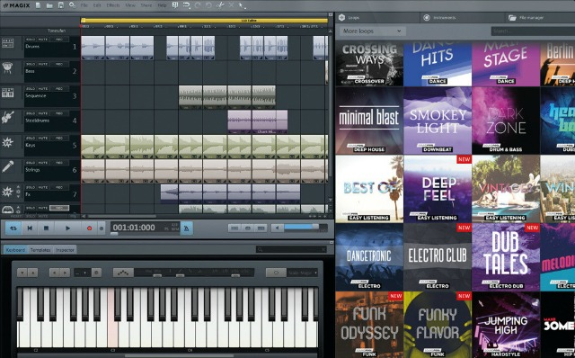 MAGIX Releases Fully Customizable Music Maker Editions