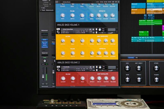 Synth Bass For Ableton Live, Kontakt & Logic