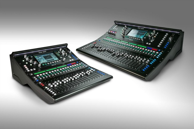 Allen & Heath Launches SQ Digital Mixers
