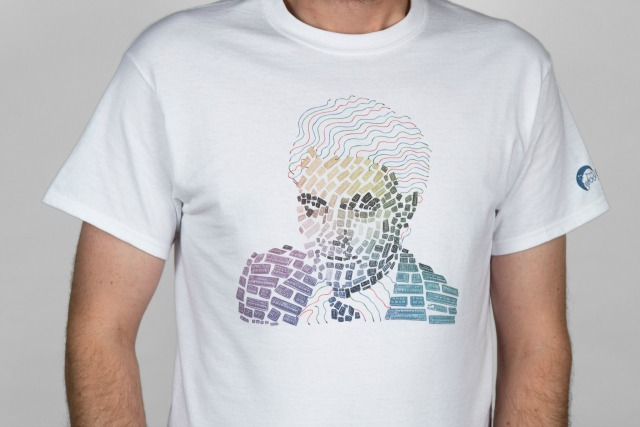Synth Mosaic T-Shirt For Moog Fans