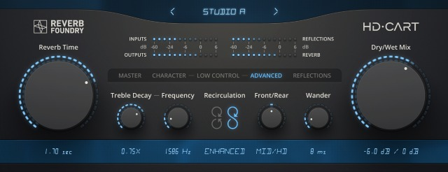 Plug-in Inspired By Lexicon 480L Reverb