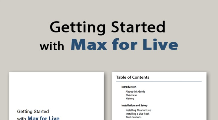 Get Started With Max For Live For Free