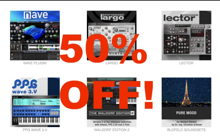Waldorf 50% Off Software This Weekend