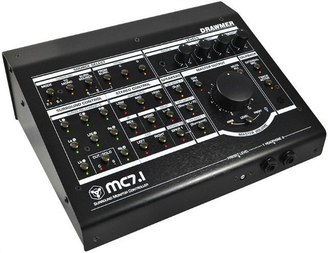 Drawmer Ships MC7.1 Surround Monitor Controller