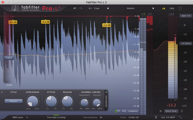 True Peak Limiter Updated