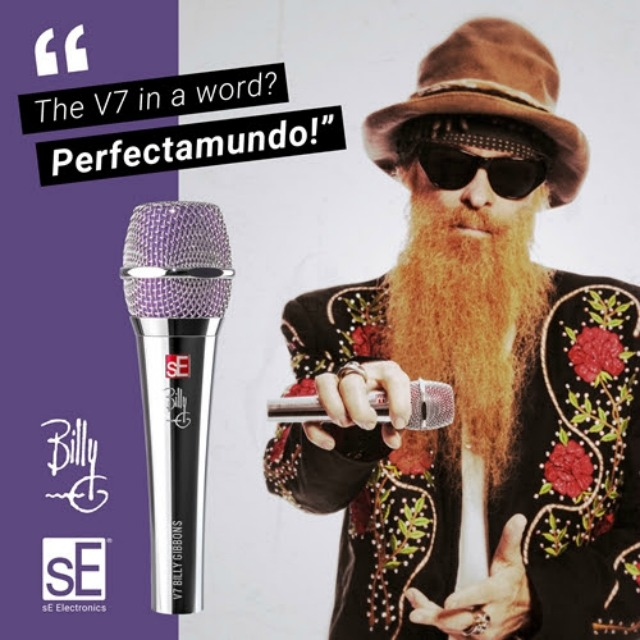 ZZ Top Vocal Mic