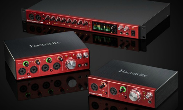 New Focusrite Audio Interfaces