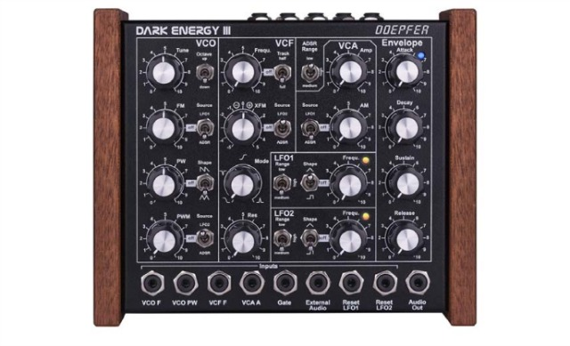 NAMM 2018: Doepfer Intros Dark Energy III