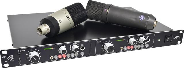 NAMM 2018: TK Audio DP-2 Dual Mic Pre