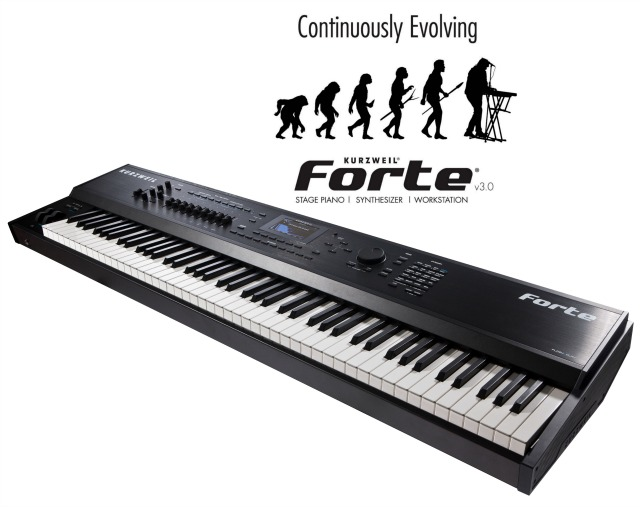 NAMM 2018: Kurzweil Forte Now A Workstation