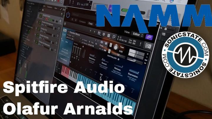 NAMM 2018: Spitfire Audio Olafur Arnalds String Library