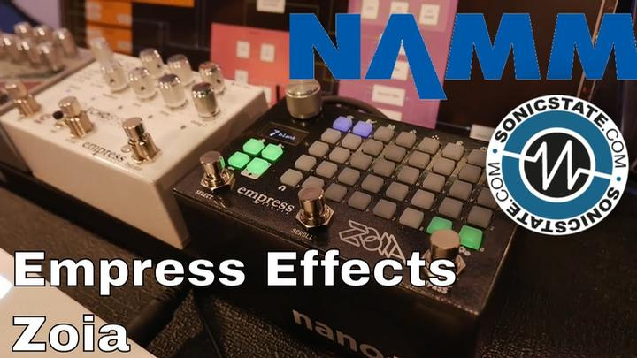 namm 2018 empress effects zoia modular synth in a pedal. Black Bedroom Furniture Sets. Home Design Ideas
