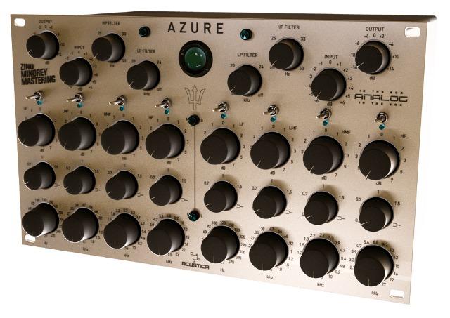 Acustica Introduces AZURE Mastering Tool