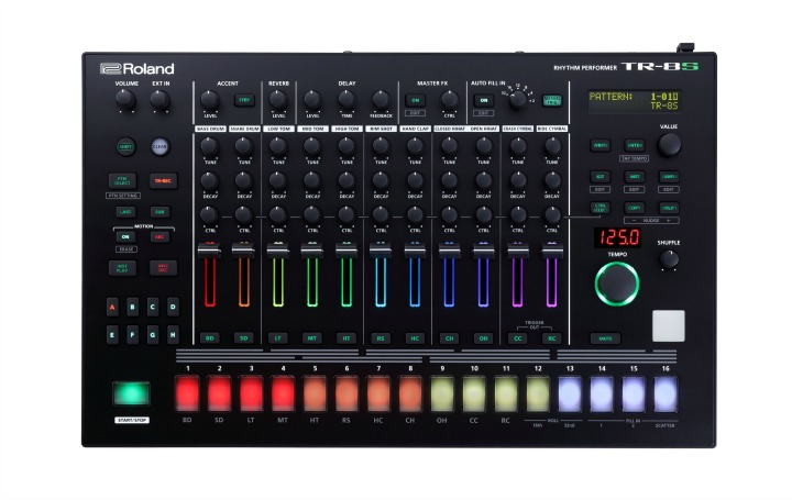 New Roland TR-8S Adds Sampling And More