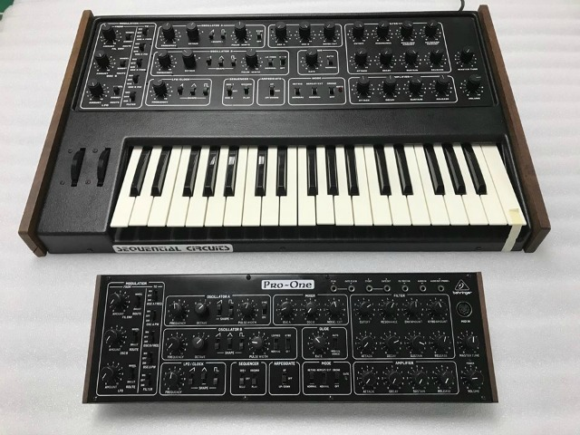 Behringer's Pro-One Clone Revealed