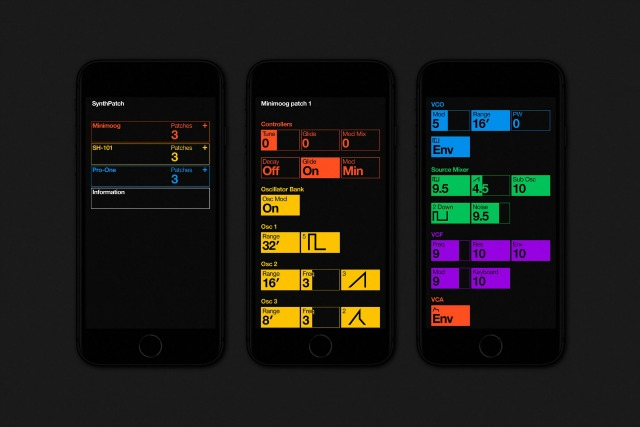 Store Analog Synth Settings On Your iPhone