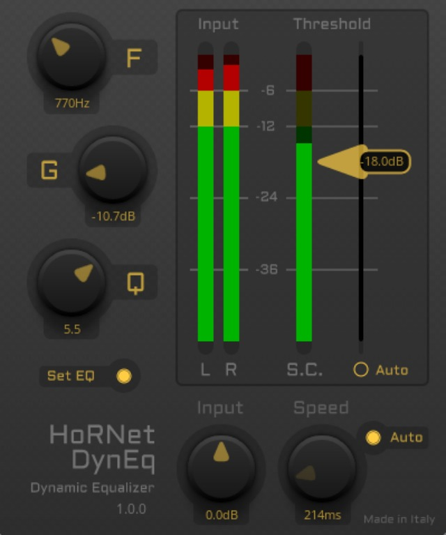 HoRNet Releases A Dynamic EQ