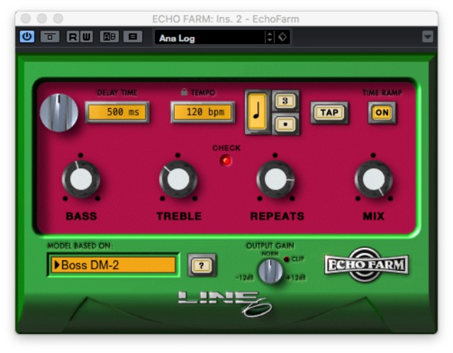 Line 6 Echo Farm Adds AU And VST Formats