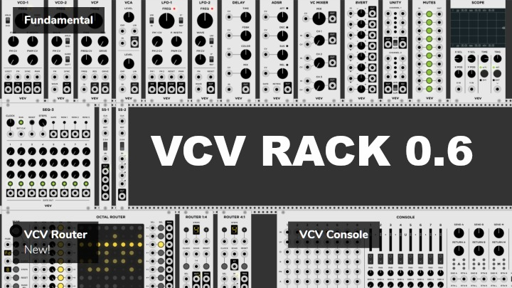 More Updates To VCVRack Add DAW MIDI + Audio Links