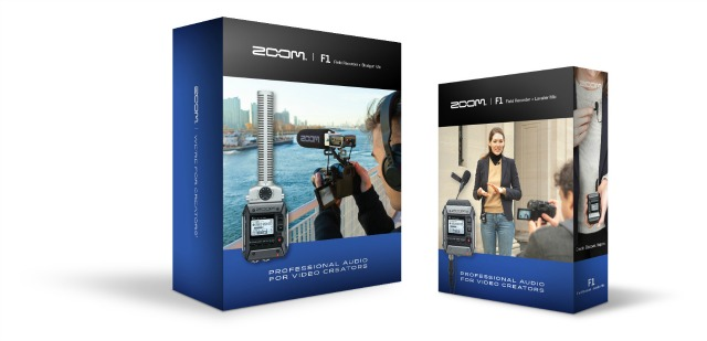 Zoom's F1 Recorder Gets Choice Of Mics