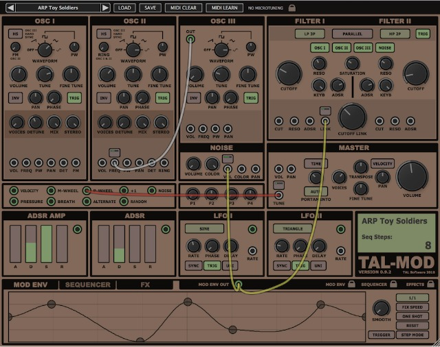 Modular Synth In Software
