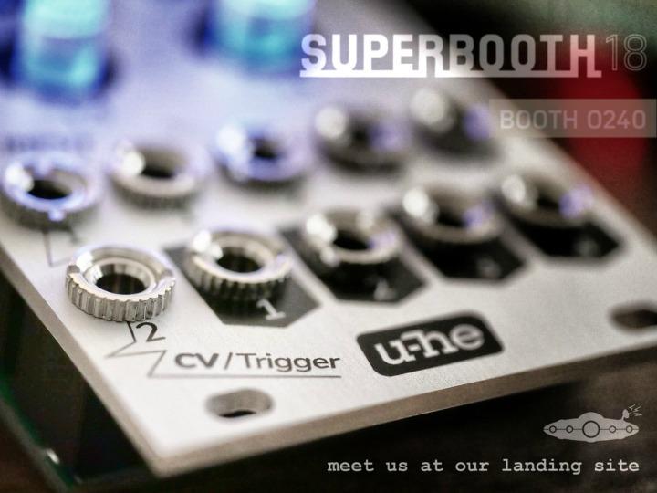 U-He Tease Hardware For Superbooth