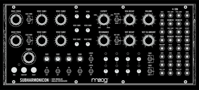 Moog To Debut The Sub-Harmonicon At Moogfest