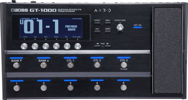 BOSS Ships GT-1000 Multi-FX