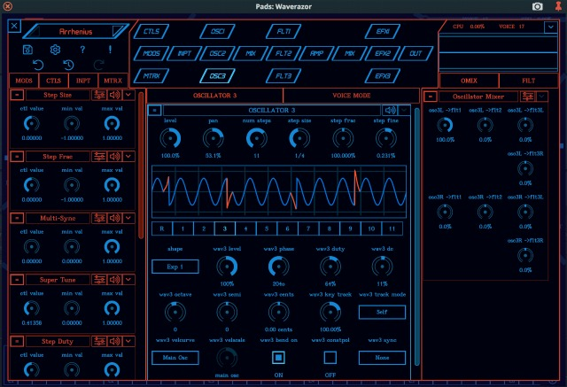 MOK's Waverazor Synth Updated