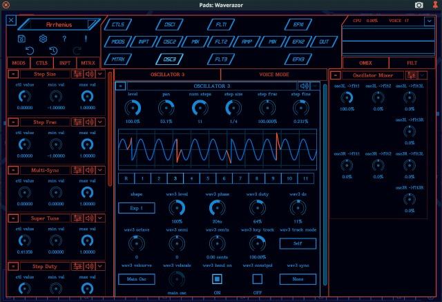mok waverazor synthesizer