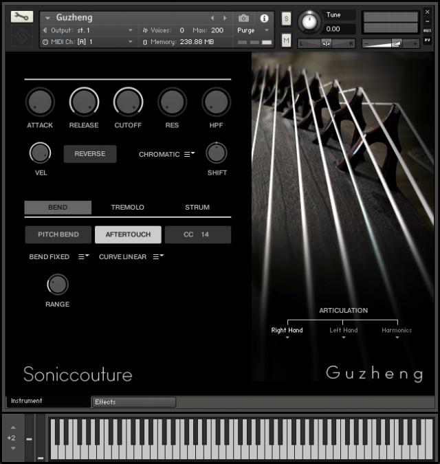 Soniccouture Releases Guzheng v2