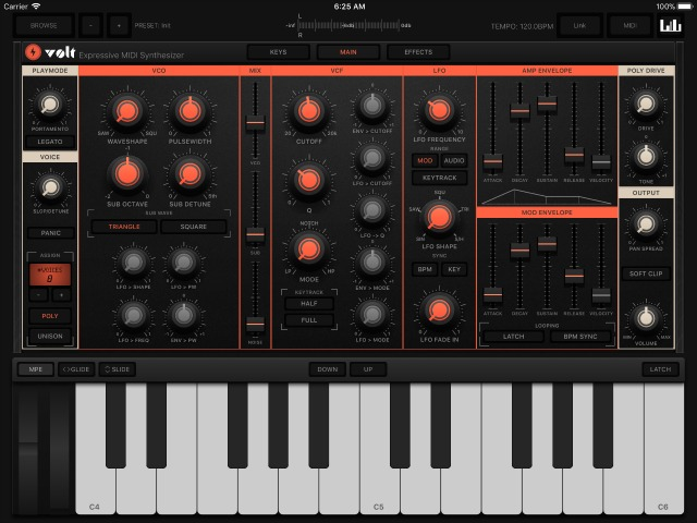 VOLT Synthesizer Updated